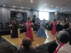 Philippines dance group, Sampaguita, doing their thing