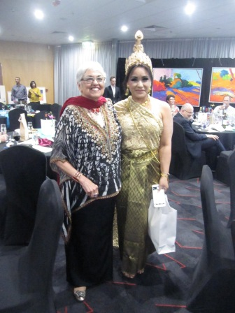 Leonie and Huong, winner of the female best dressed prize