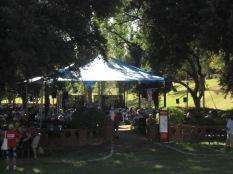 Pioneer Women's Memorial Garden from a distance
