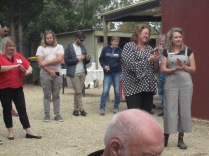 We had plenty of local pollies present - Nat Cook in the spotty top