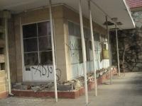 Back to 38, ground floor graffiti