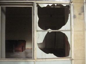Broken windows, open door