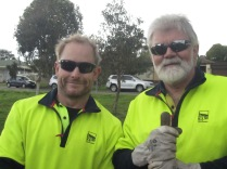 Council parks and environment guys
