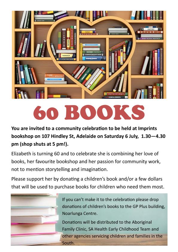 60 books flier