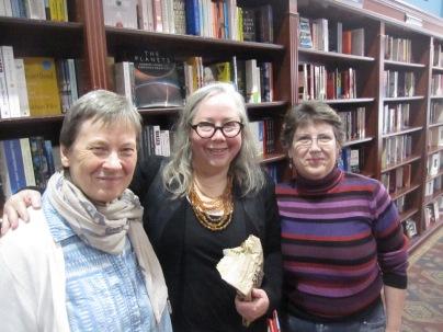 EB, Sue and Megan