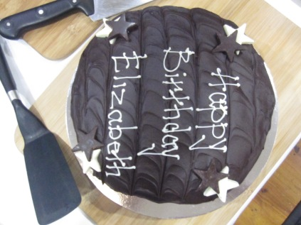 (one of the) cakes!