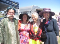 Some of the folk who came down from Aldinga eco-village
