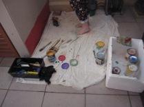 The paints
