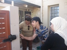 Layla, Walid and Sophia