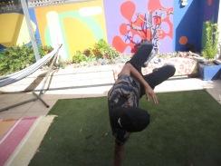 Walid dancing (fab!)
