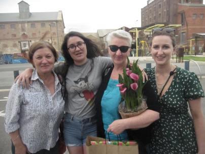 Narelle, Emily, Kathy and Mia