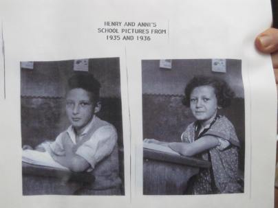 Henry (born 1923, the same year as my dad) and Anni (born 1926, the same year as my mum)