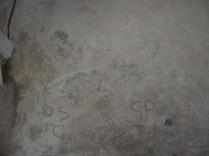 Initials and footprint