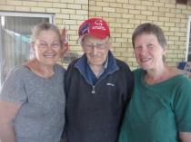 Jane, dad and me