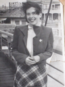 Mum in her youth
