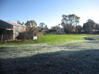 Paddock - frost and thaw