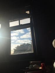 Morning light from my room